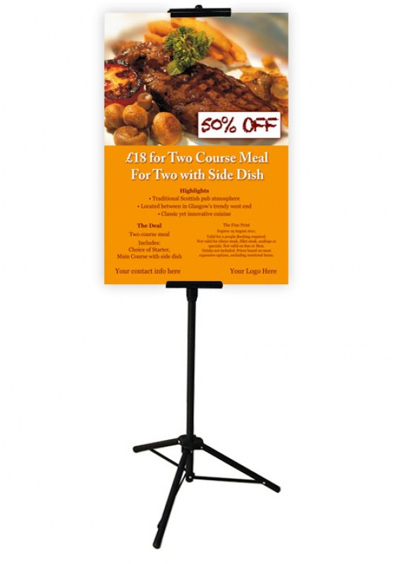 Banner System T Banner Stand