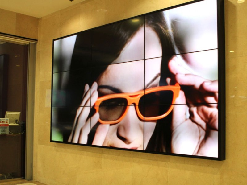 Video wall in Mall