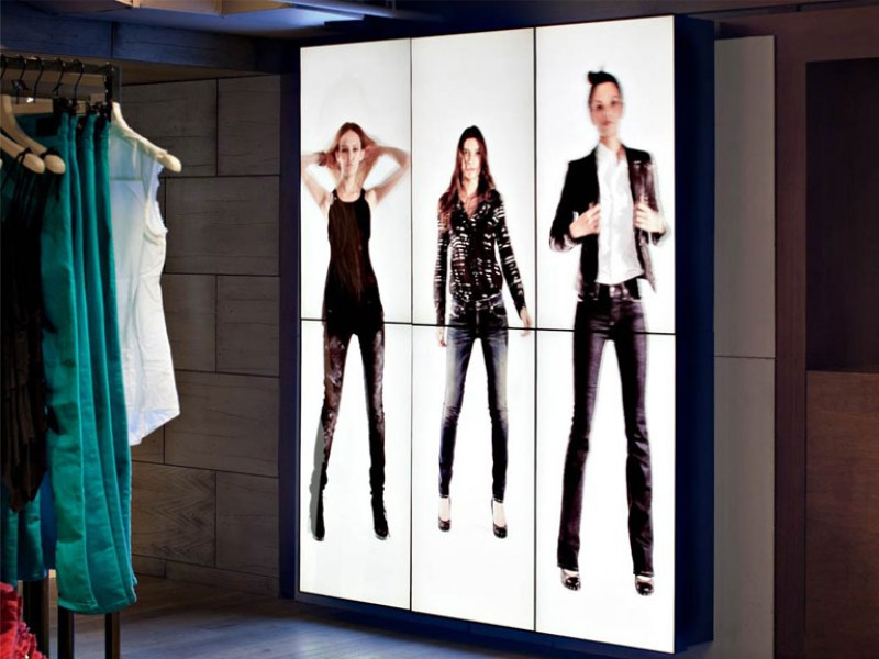 Fashion Store Video Wall